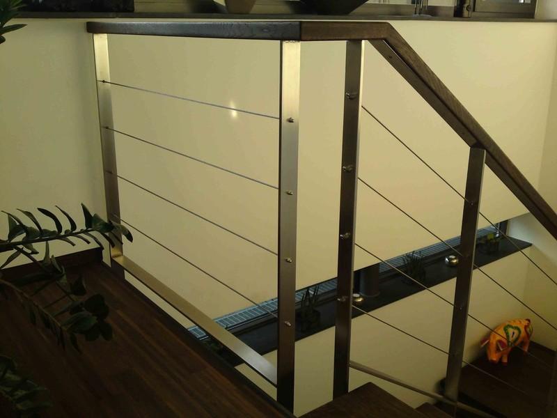 mikes edelstahldesign edelstahl holz gel nder in. Black Bedroom Furniture Sets. Home Design Ideas